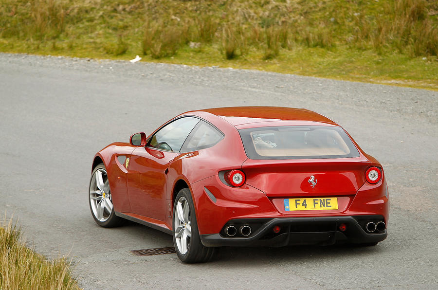 Ferrari FF rear cornering