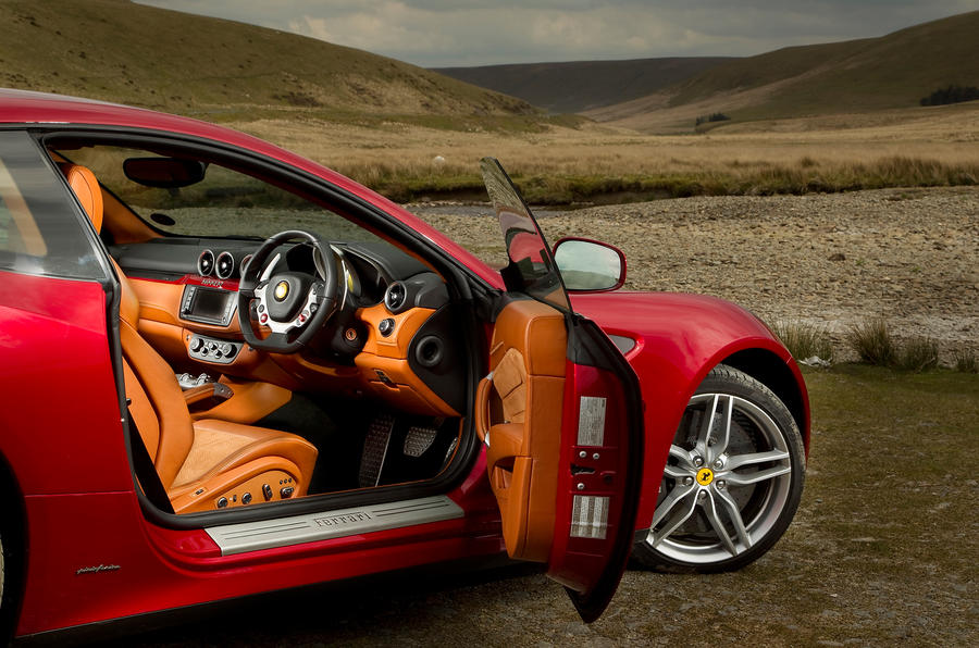 The 651bhp Ferrari FF interior