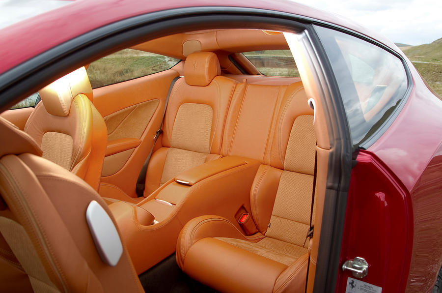 Ferrari FF rear seats
