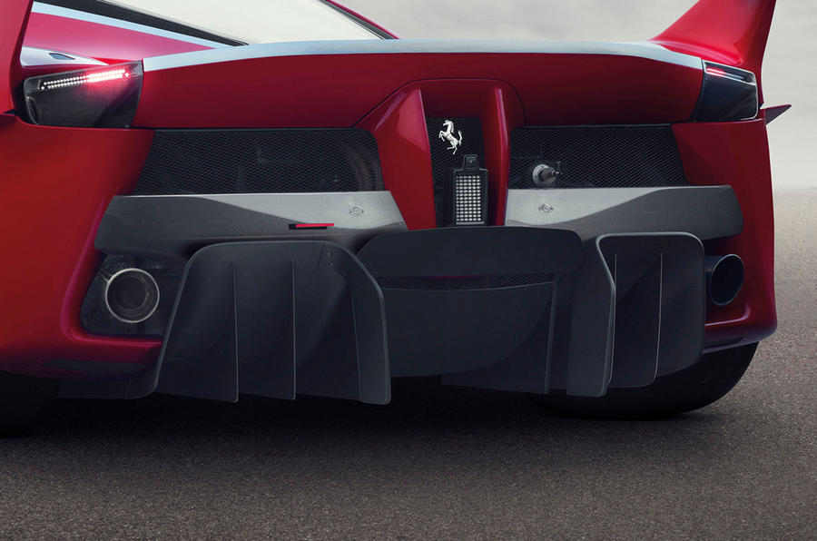 Ferrari reveals 1021bhp LaFerrari FXX K