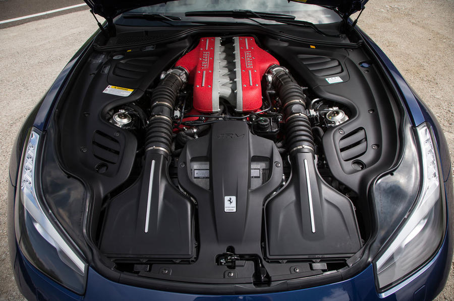 6.3-litre V12 Ferrari GTC4 Lusso engine