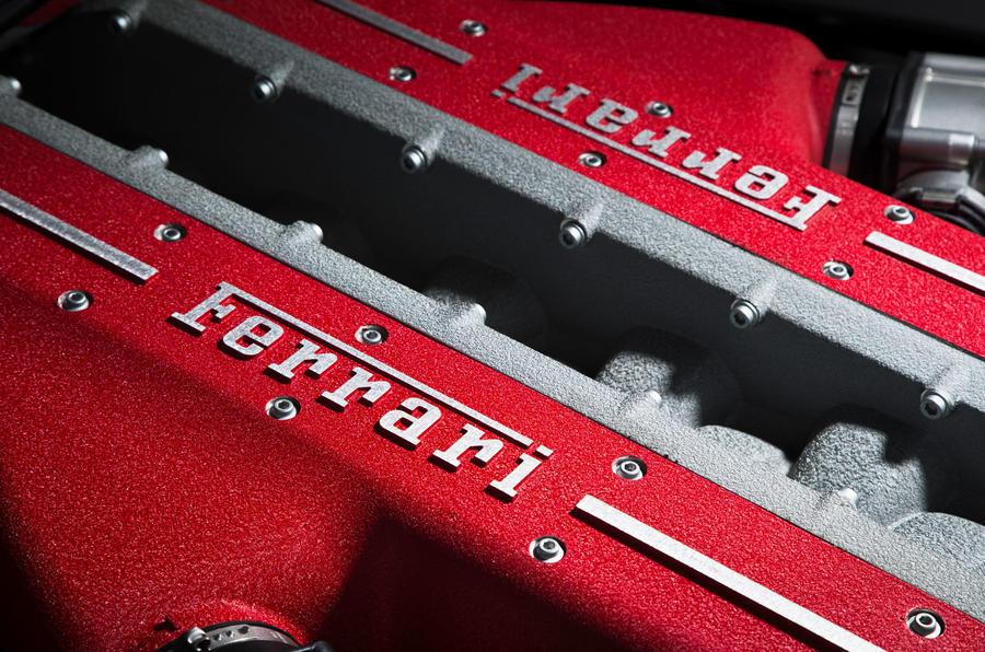 Ferrari GTC4 Lusso engine block