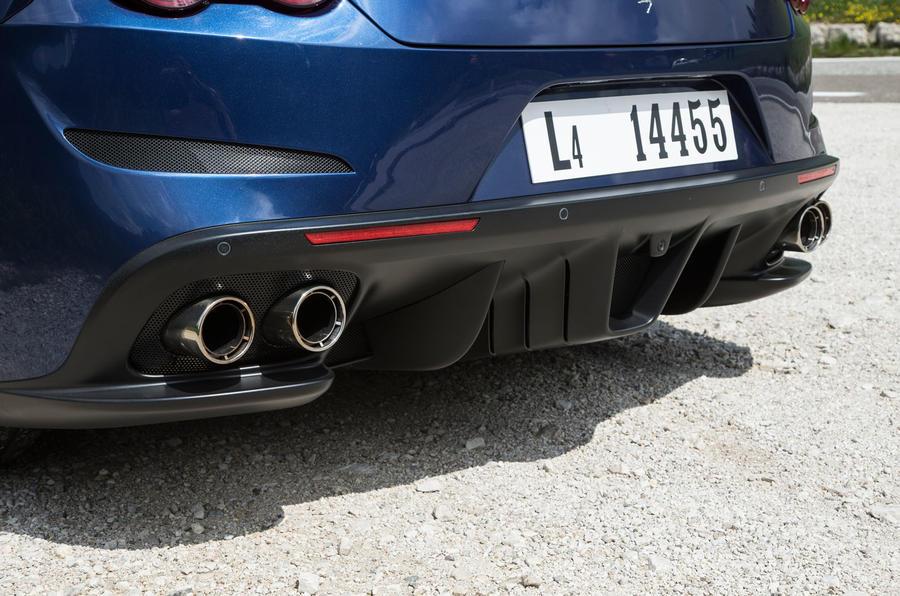 Ferrari GTC4 Lusso rear diffuser