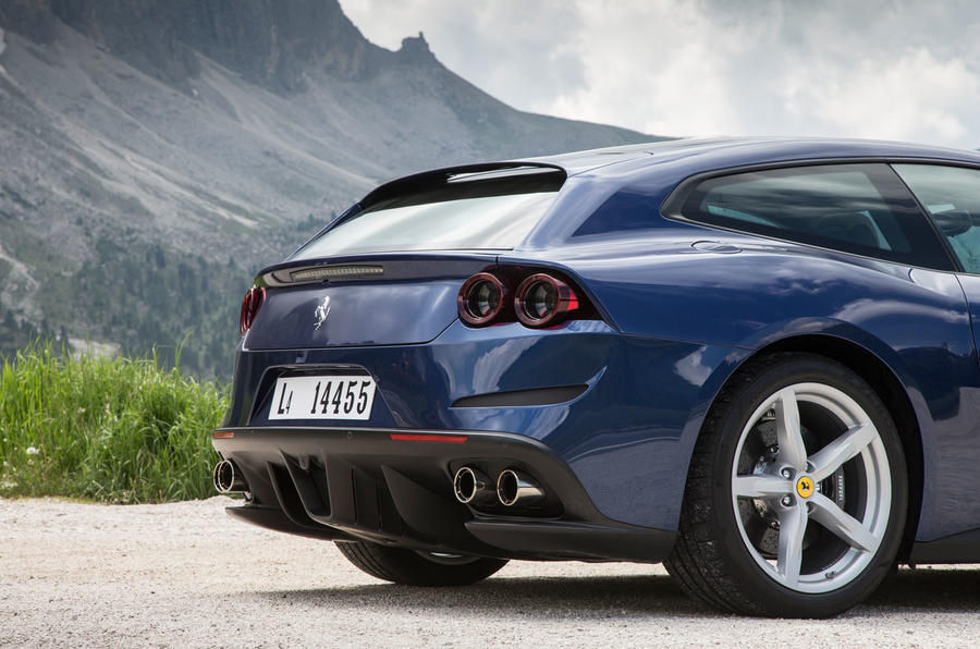 Ferrari GTC4 Lusso rear end
