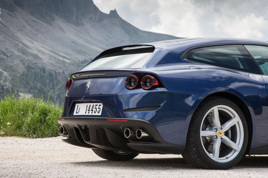 Ferrari GTC4 Lusso rear end