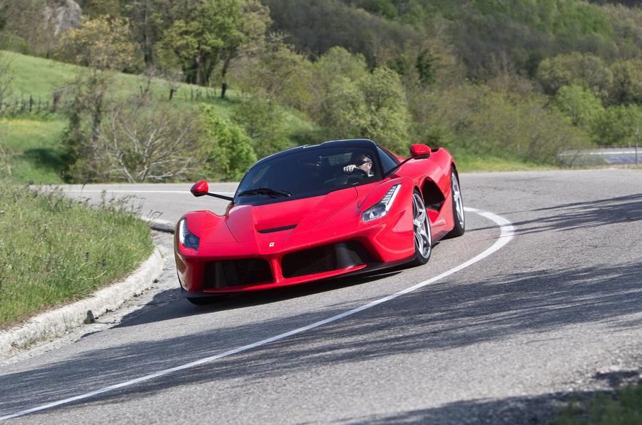Ferrari LaFerrari hard cornering