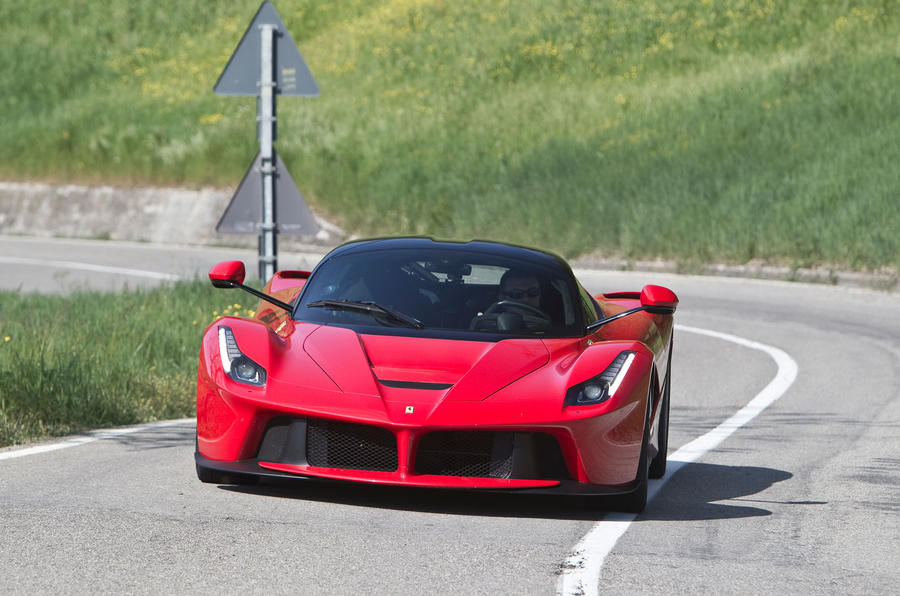 The 950bhp Ferrari LaFerrari