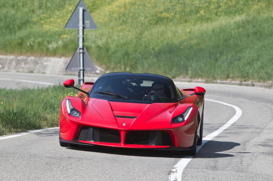 The 950bhp Ferrari LaFerrari