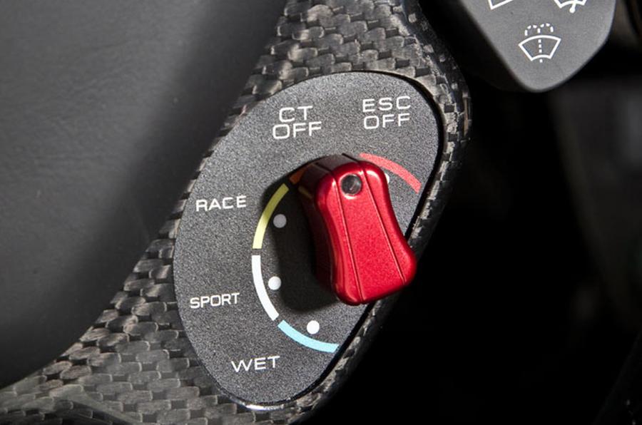 Ferrari LaFerrari's driving modes