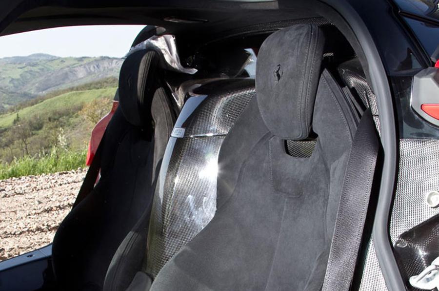 Ferrari LaFerrari sport bucket seats