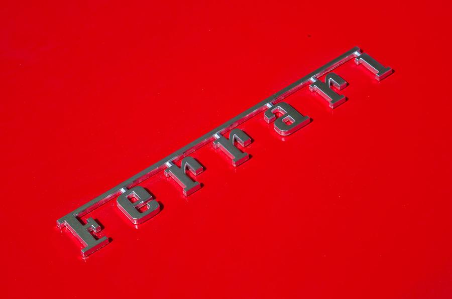 Ferrari badging