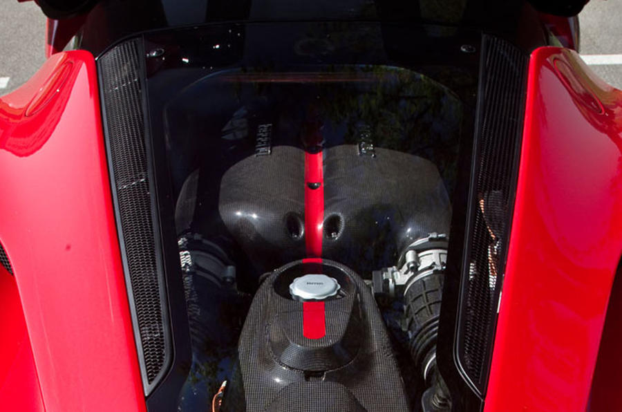 6.3-litre V12 Ferrari LaFerrari engine