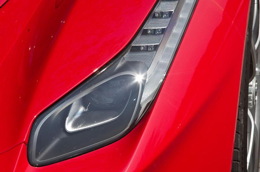 Ferrari LaFerrari headlight cluster