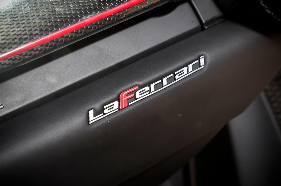 Ferrari LaFerrari badging