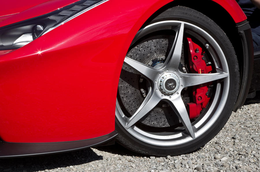19in Ferrari LaFerrari alloy wheels