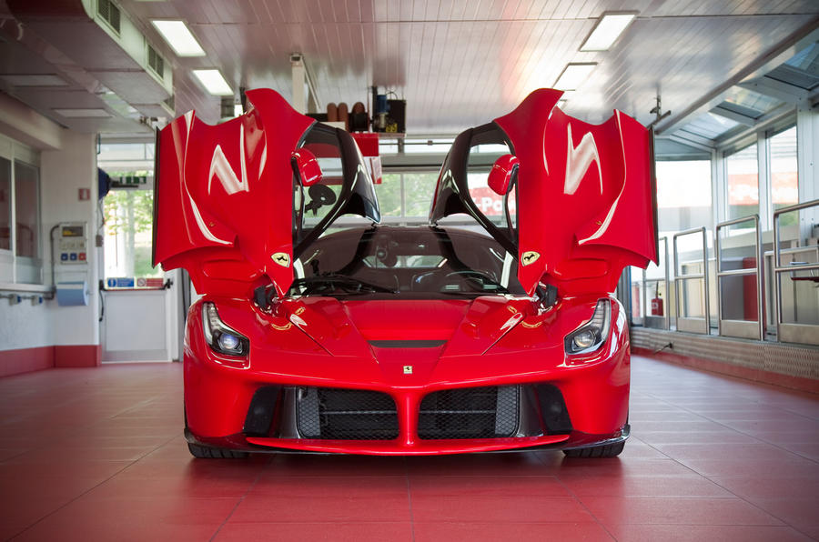 Ferrari LaFerrari gullwing doors