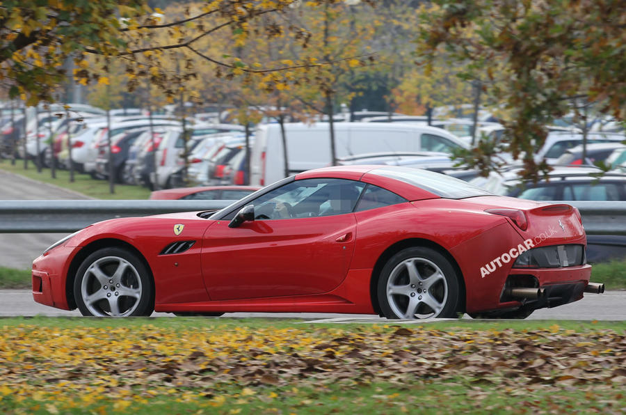 Ferrari considering new front-engined model