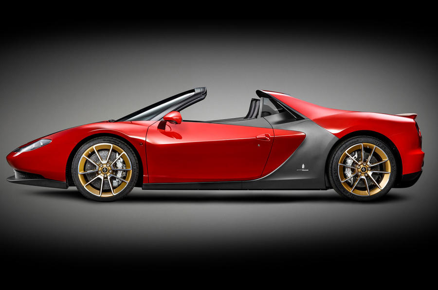 Ferrari Sergio by Pininfarina revealed