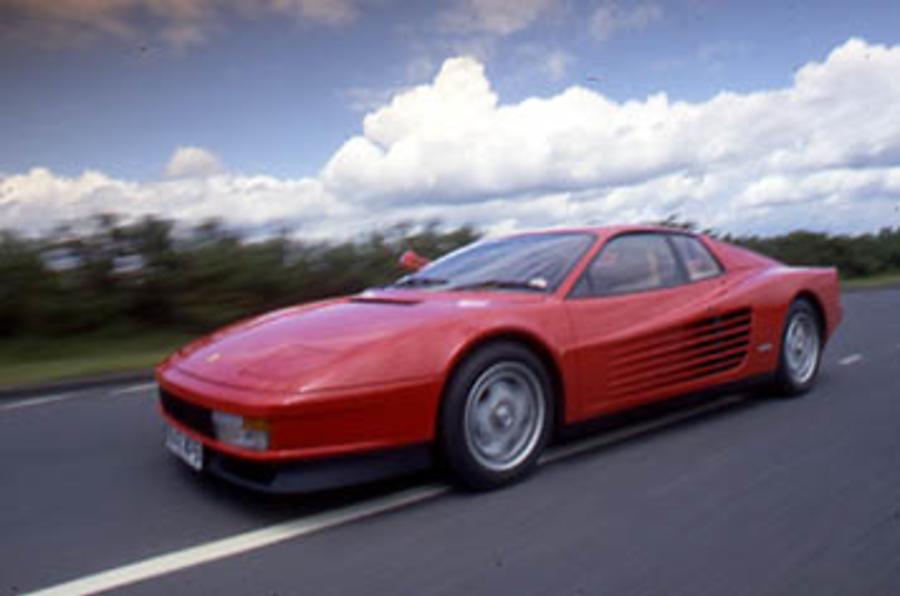 Ferrari driver's £180k speed fine
