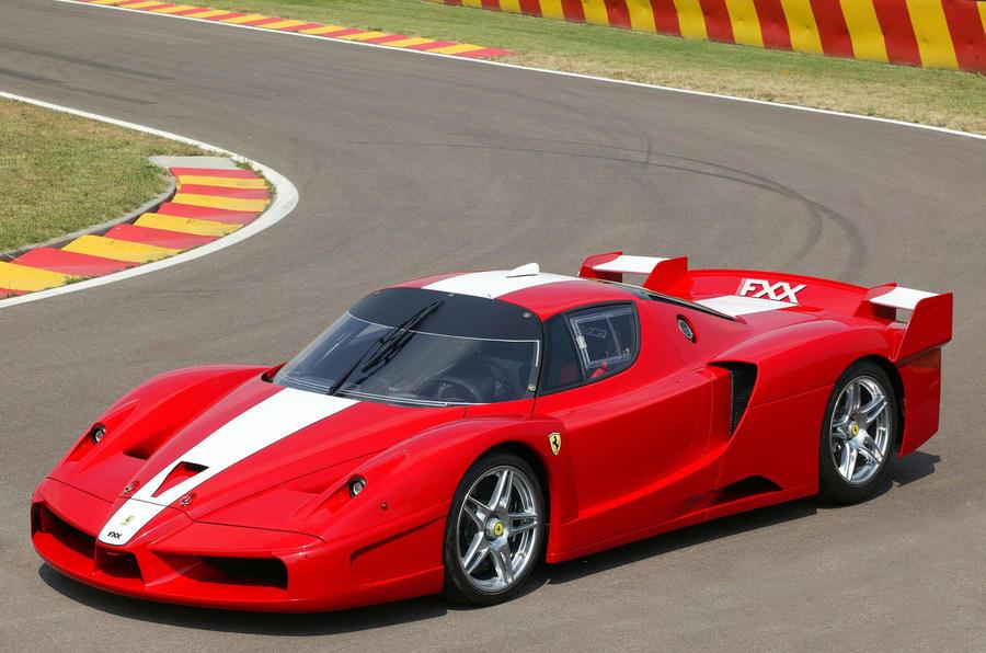 The cars of Ferrari's XX programme