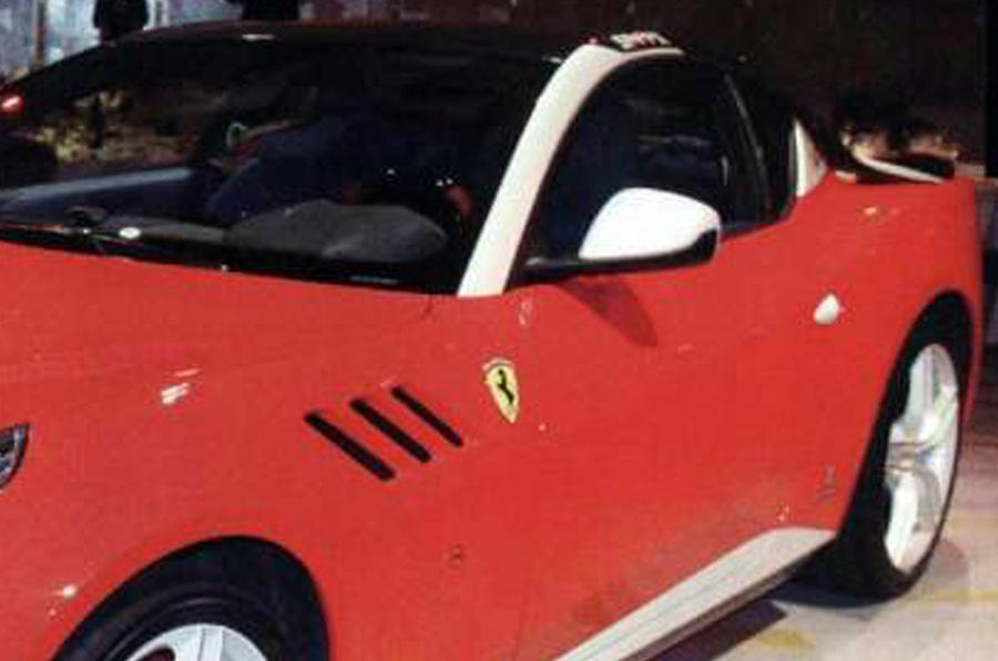 One-off Ferrari SP FFX unveiled
