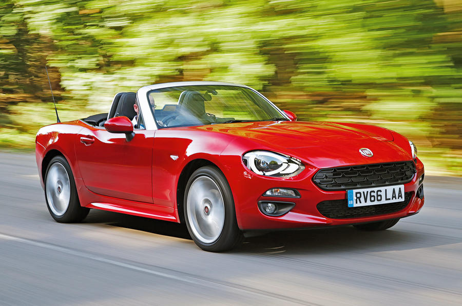 fiat 124 spider review 2018 autocar. Black Bedroom Furniture Sets. Home Design Ideas