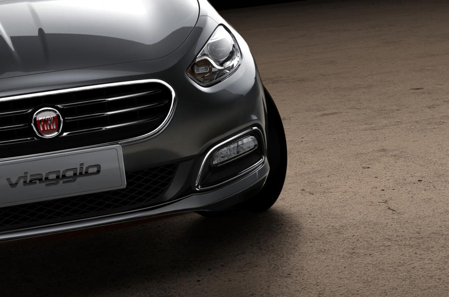 New Fiat Viaggio saloon teased