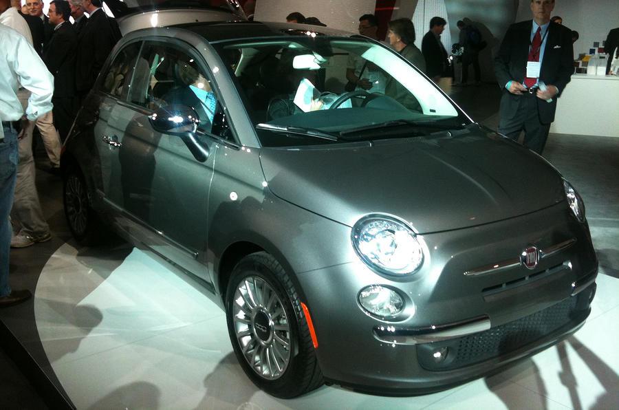 LA motor show: US-spec Fiat 500