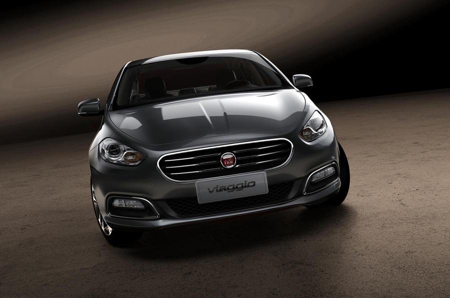 Fiat Viaggio leaks out