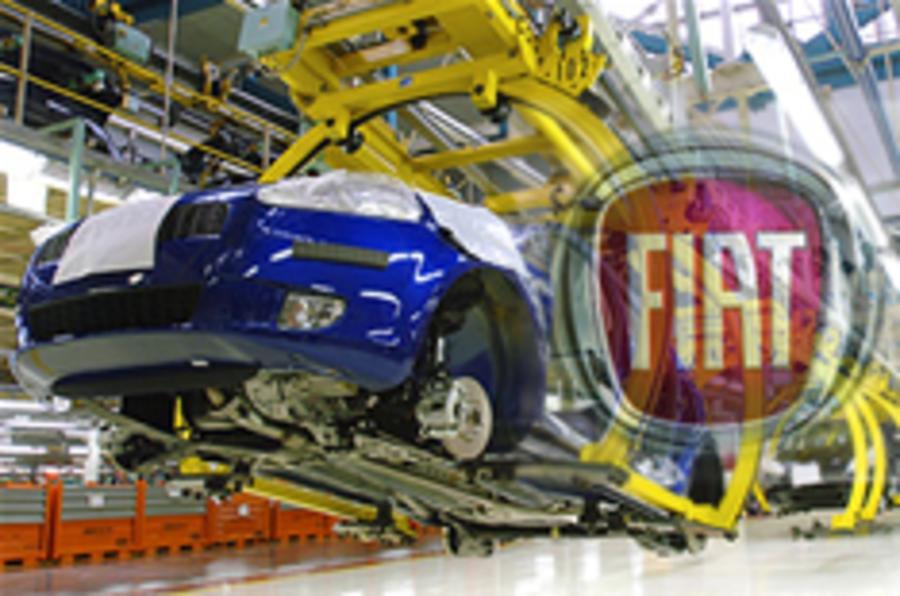 Fiat records £155m loss