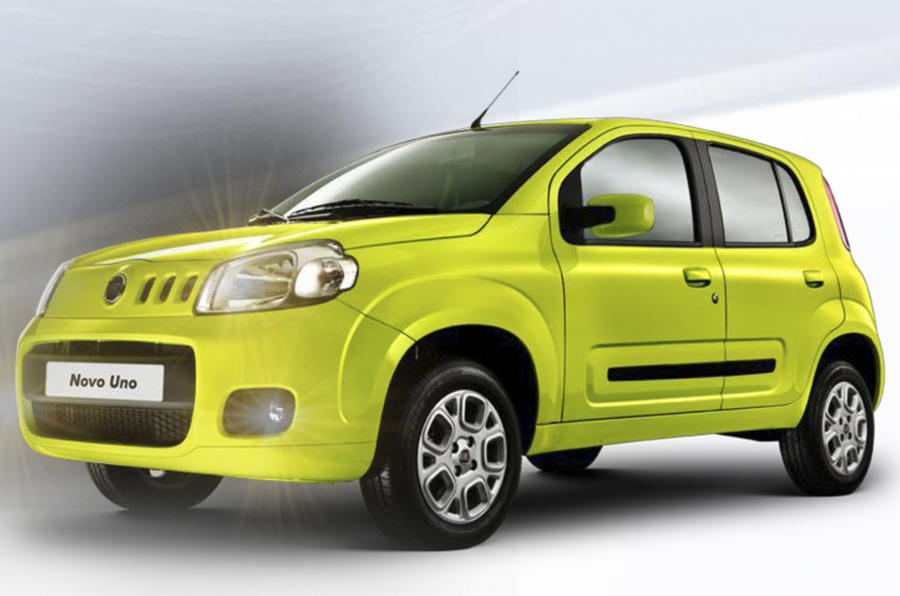 New Fiat Uno  First Pictures
