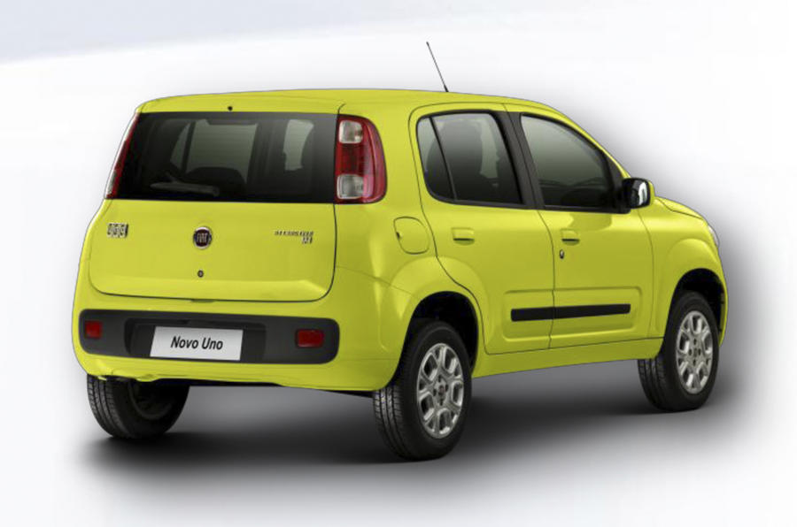 New Fiat Uno: first pictures