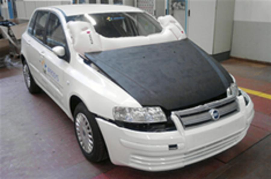 Bonnet airbag developed