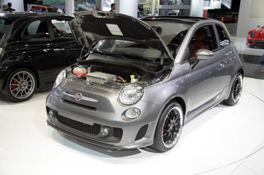 Electric Fiat 500 On Sale 2012 Autocar