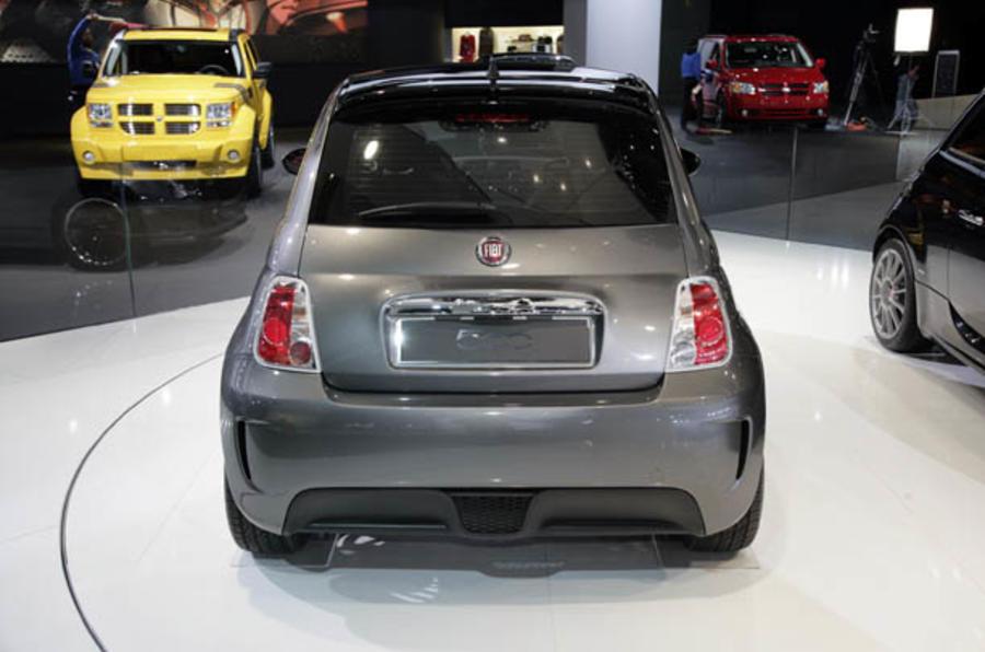 Electric Fiat 500 on sale 2012