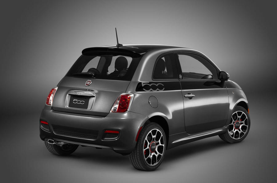 Special Fiat 500 for US return