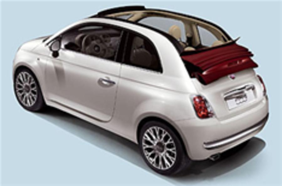 Fiat 500 Cabrio revealed
