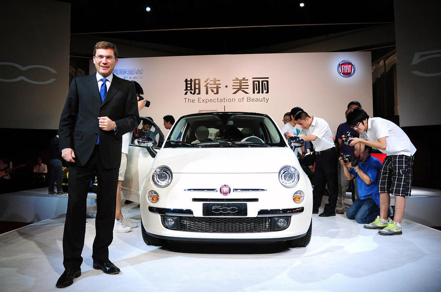 Special Fiat 500 revealed in China