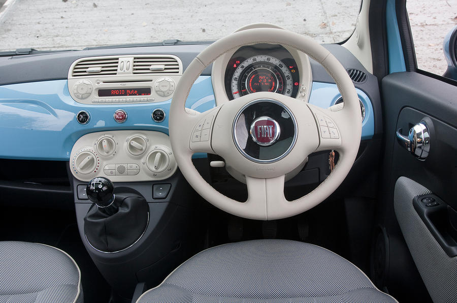 Fiat 500 Lounge Interior Colours