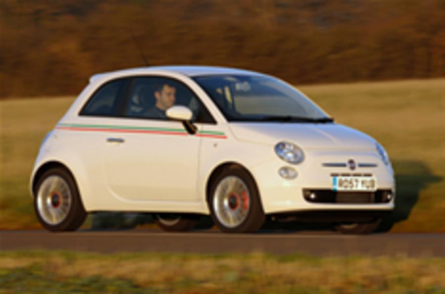 Fiat 500 production increases