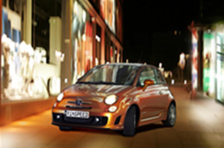 Rinspeed's tuned Fiat 500 Abarth
