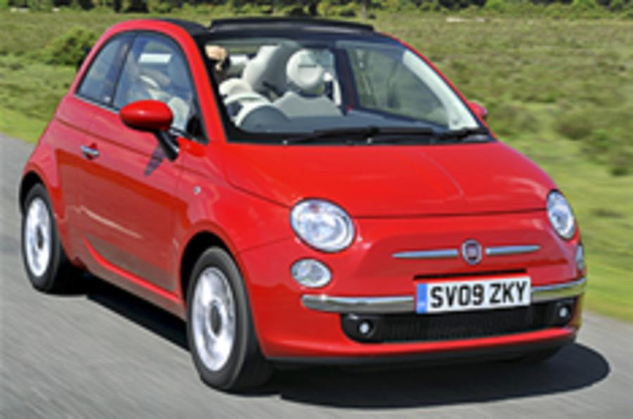 Fiat 500 sets sales record