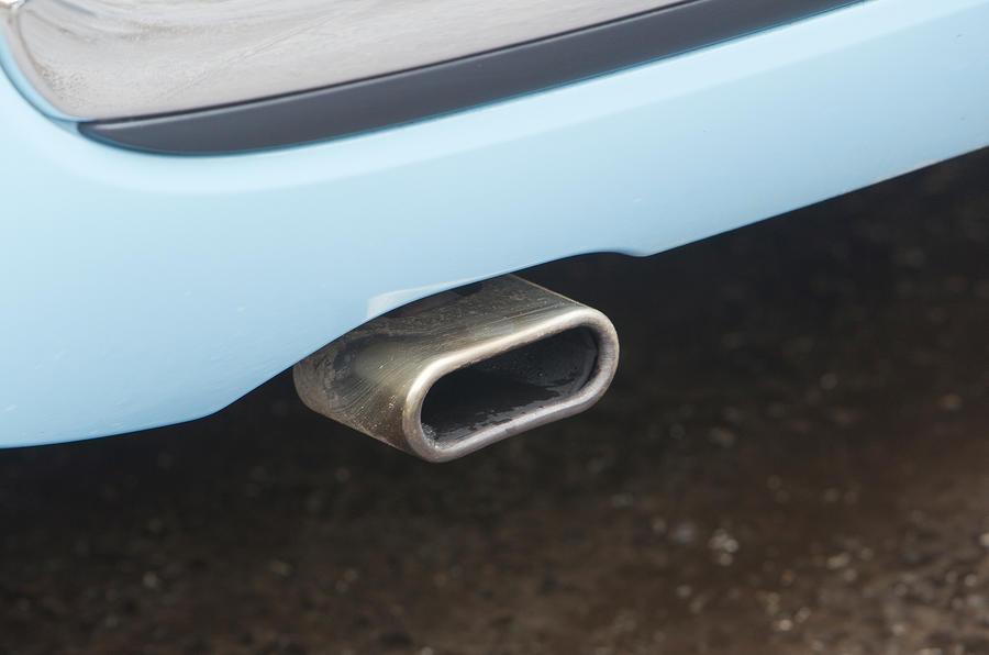 Fiat 500 exhaust