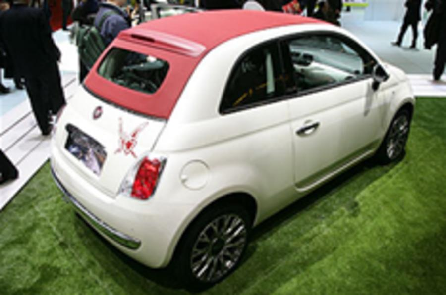 Fiat 500C from £11,300