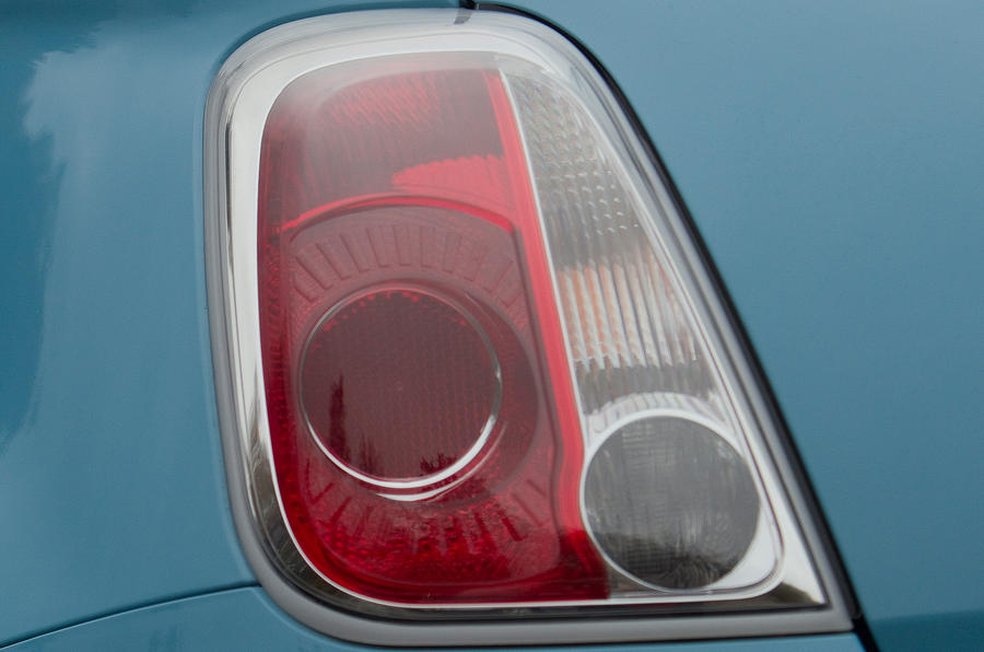 Fiat 500 rear lights