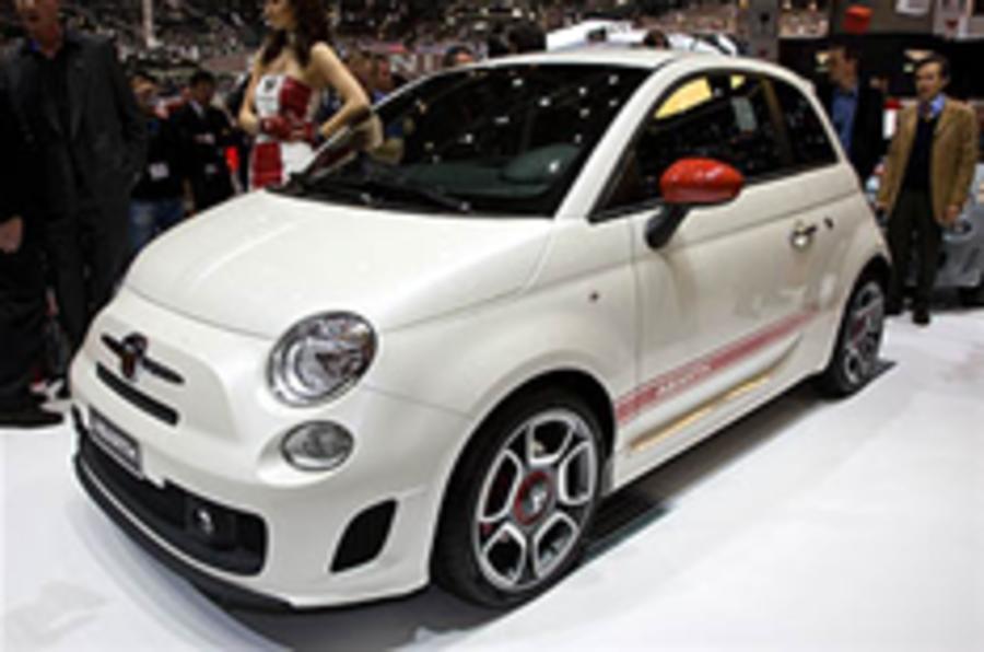 Fiat's Geneva show
