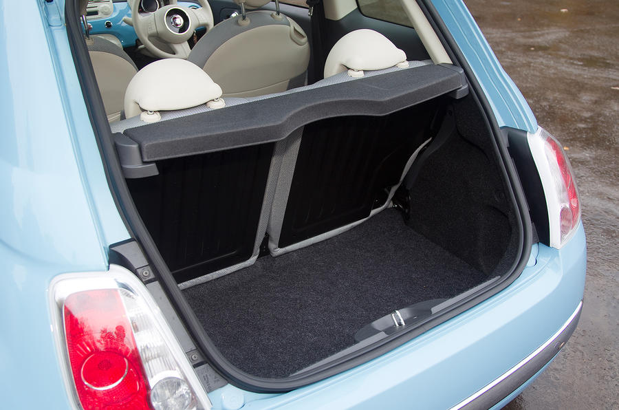 Fiat 500 boot space