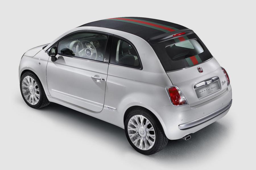 New Fiat 500byGucci cabrio