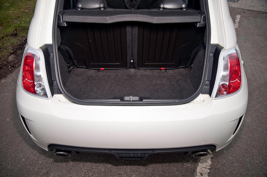 Fiat 500 Abarth boot space