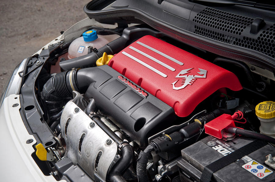 135bhp Fiat 500 Abarth engine